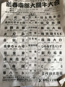 ♯新春南部大闘牛大会2018.1.3